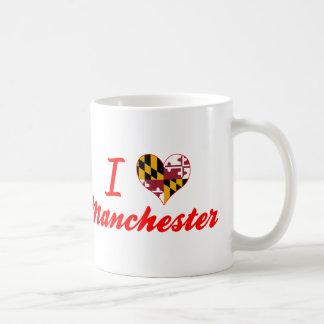 I Love Manchester, Maryland Coffee Mug