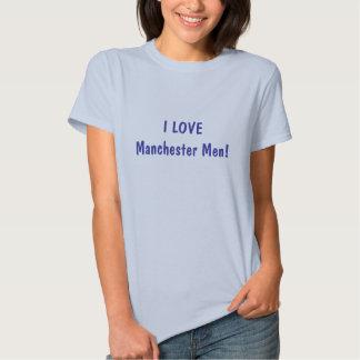 I LOVE Manchester Men! Tee Shirts