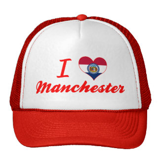 I Love Manchester, Missouri Trucker Hat
