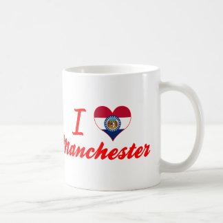 I Love Manchester, Missouri Mug