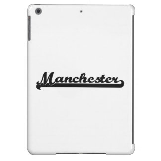 I love Manchester New Hampshire Classic Design Cover For iPad Air