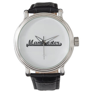 I love Manchester New Hampshire Classic Design Wrist Watch