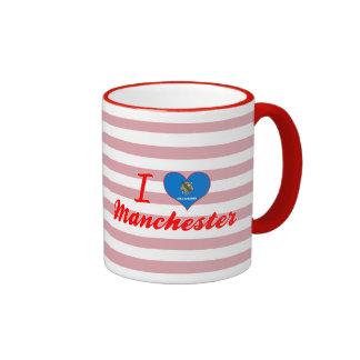 I Love Manchester, Oklahoma Mugs
