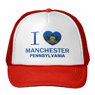 I Love Manchester, PA Hat