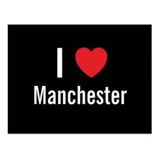 I love Manchester Postcard