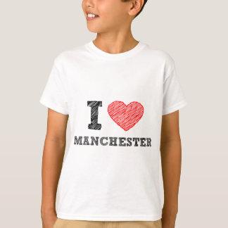 I-love-Manchester T-Shirt