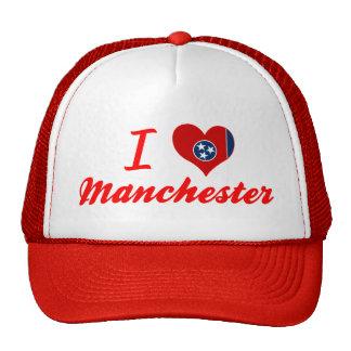 I Love Manchester, Tennessee Trucker Hat