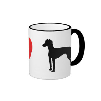 I Love Manchester Terriers Mug