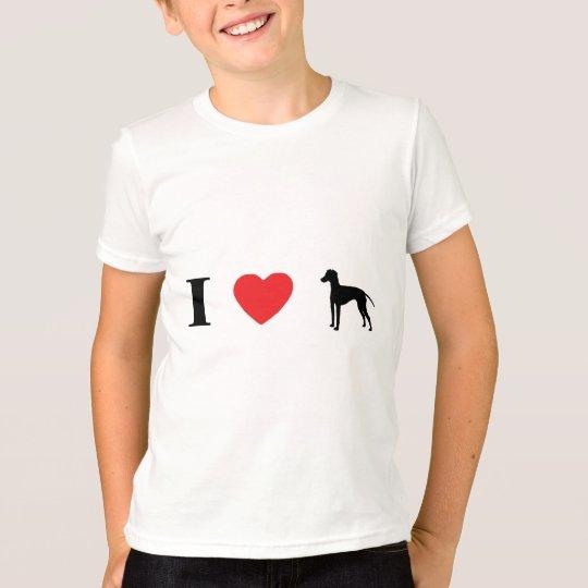 I Love Manchester Terriers T-Shirt