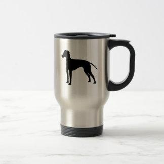 I Love Manchester Terriers Travel Mug
