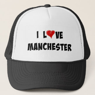 I Love Manchester Trucker Hat