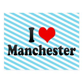 I Love Manchester, United Kingdom Postcard