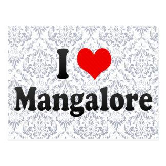 I Love Mangalore, India Postcard
