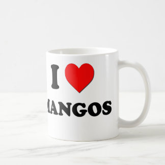 I Love Mangos ( Food ) Coffee Mug