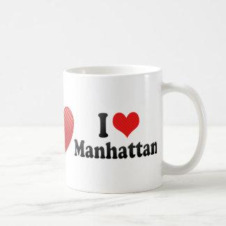 I Love Manhattan Coffee Mugs