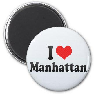 I Love Manhattan Refrigerator Magnet