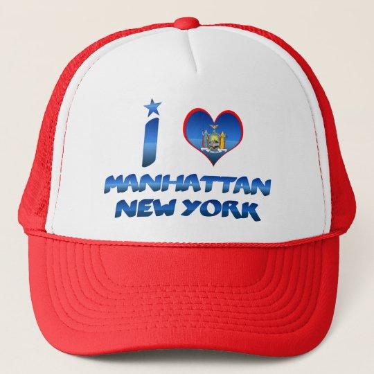 I love Manhattan, New York Cap