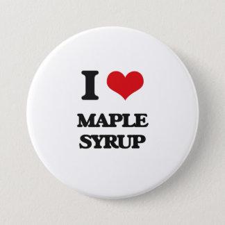 I Love Maple Syrup 7.5 Cm Round Badge
