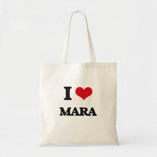 I Love Mara Budget Tote Bag