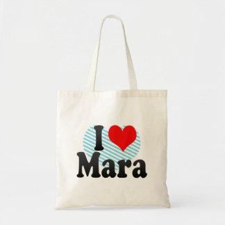 I love Mara Tote Bag