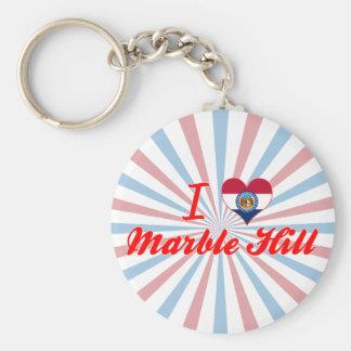 I Love Marble Hill, Missouri Key Chains