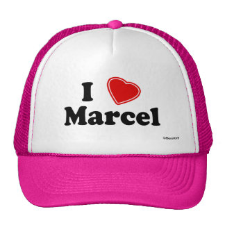 I Love Marcel Cap