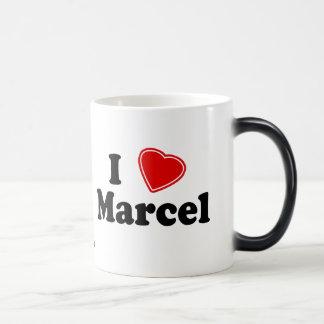 I Love Marcel Morphing Mug