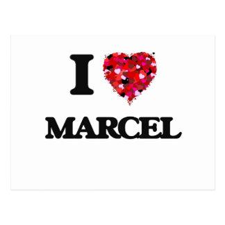 I Love Marcel Postcard