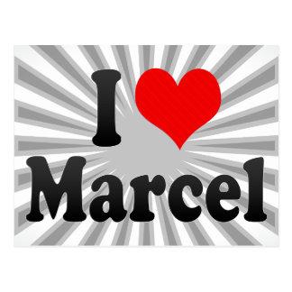I love Marcel Postcards