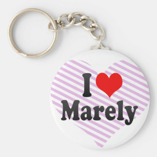 I love Marely Keychains