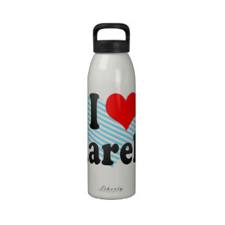 I love Marely Drinking Bottle