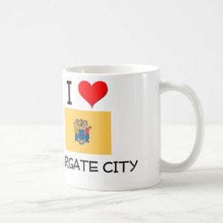 I Love Margate City New Jersey Coffee Mugs