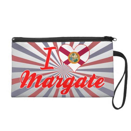 I Love Margate, Florida Wristlet Clutches