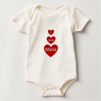 I love Maria Baby Bodysuit