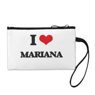 I Love Mariana Coin Wallets