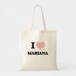 I love Mariana (heart made from words) design