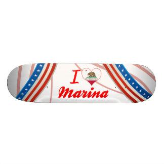 I Love Marina California Skateboard Decks