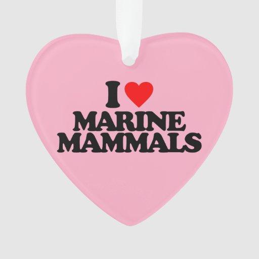 I LOVE MARINE MAMMALS