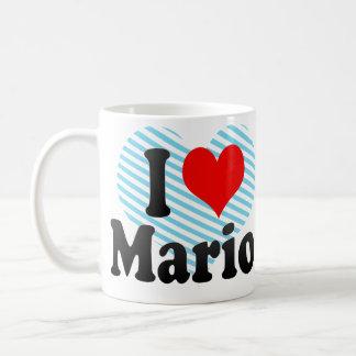 I love Mario Basic White Mug