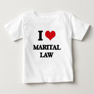 I Love Marital Law Shirts