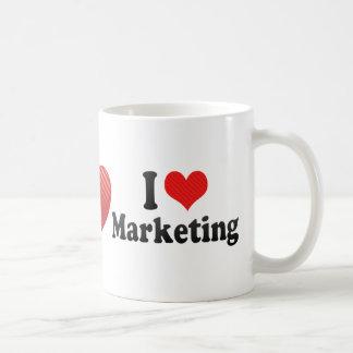 I Love Marketing Coffee Mug