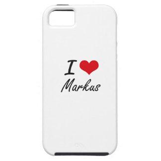 I Love Markus iPhone 5 Covers