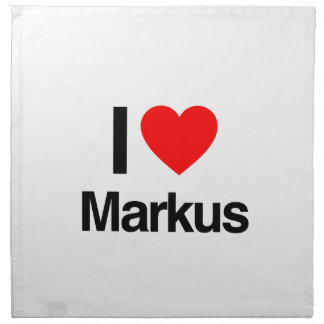 I love markus printed napkins