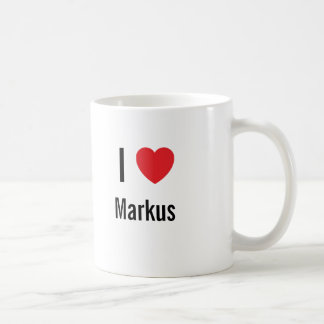 I love Markus Mugs
