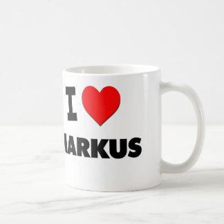 I love Markus Coffee Mug
