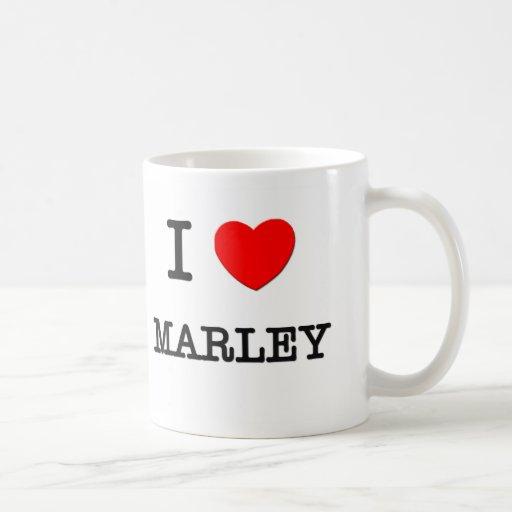I Love Marley Mugs