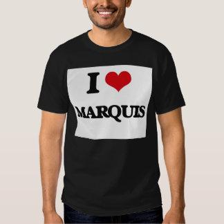 I Love Marquis T-shirts