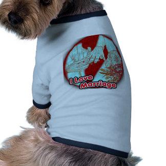 I Love Marriage Engaged Pet Clothing