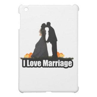 I Love Marriage Kiss the Bride Case For The iPad Mini