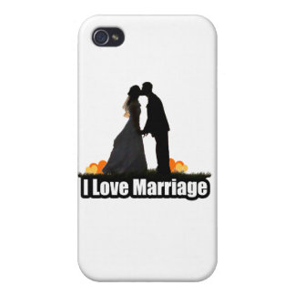 I Love Marriage Kiss the Bride iPhone 4 Cover